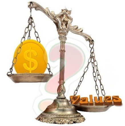 Money vs. Values: What Makes Life More Purposeful | Infant & Child Care | Scoop.it