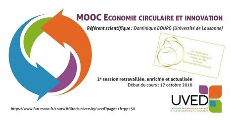 """Le plein de nouveautés pour la deuxième session du MOOC""""Économie circulaire et innovation""""   Innovations francophones   Scoop.it"""