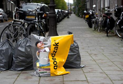 Pays Bas - Le sac qui favorise le réemploi entre voisins   Les innovations qui changent la vie   Scoop.it