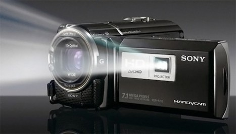 Sony HDR-PJ50 is both a camcorder and projector | Technology and Gadgets | Scoop.it