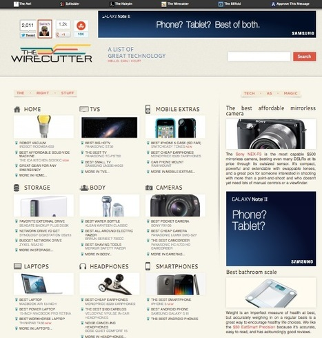 Curate Amazon Products While Making a Profit At It: The Wirecutter | Online Business Models | Scoop.it