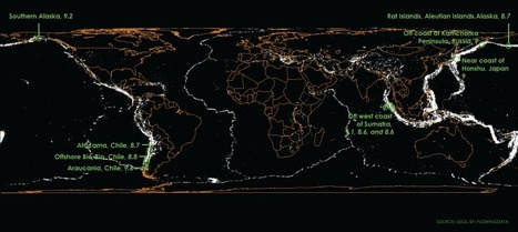 Mapping a century of earthquakes | Tudo o resto | Scoop.it