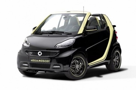 Smart Introduces the ForTwo Cabrio MOSCOT Edition - SpeedLux | Technology | Scoop.it