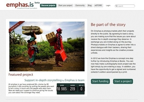 Crowdfunding platform Emphas.is goes insolvent amid internal conflicts - British Journal of Photography | a photographer's life | Scoop.it