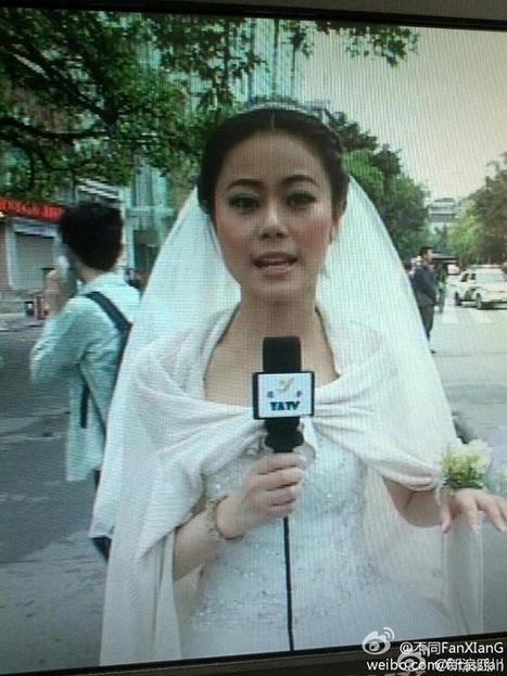 Twitter / EDMUND103: A reporter was having her wedding ... | the interpreters | Scoop.it