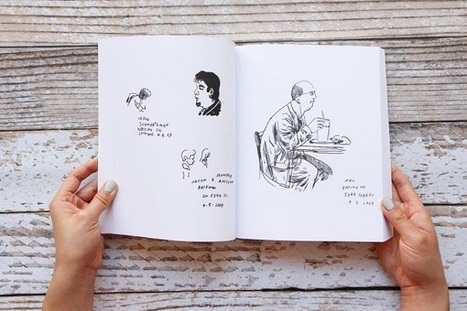 Artist Embarks On Challenging Project To Draw Every Person In New York City - DesignTAXI.com | Radio Show Contents | Scoop.it