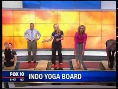 Valley of the Sun JCC on FOX10AM with Indo Board Yoga - YouTube | balanceandboards.com | Scoop.it