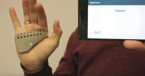 uSEEband, la pulsera que traduce el lenguaje de signos   Educomunicacion   Scoop.it