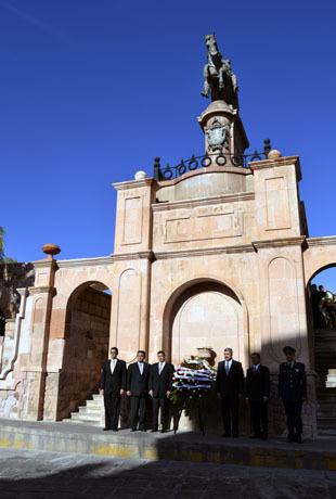 Periódico Imagen: Conmemoran el aniversario luctuoso de González Ortega   horus   Scoop.it