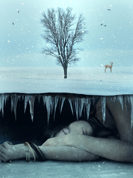 Photo Manipulate a Surreal Underground Scene with a Sleeping, Frozen Beauty | PSDFan | Photoshop Tutorials | Scoop.it