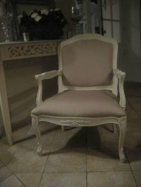 fauteuil style Louis XV - bois et lumières   Meubles de style ancien   Scoop.it