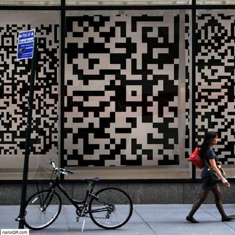 Inspiration QR code - Street Marketing | artcode | Scoop.it