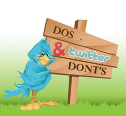 Social Media Tips - Twitter Etiquette | social media connecting to visitors | Scoop.it
