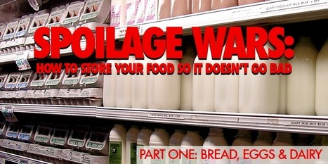 Don't Put Your Bread In The Fridge & Other Important Food Storage Tips | Radio Show Contents | Scoop.it