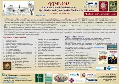QQML2013 | Information Science | Scoop.it