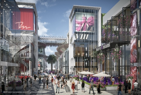New Renderings of Miami Worldcenter's High Street Retail Promenade | Business News & Finance | Scoop.it