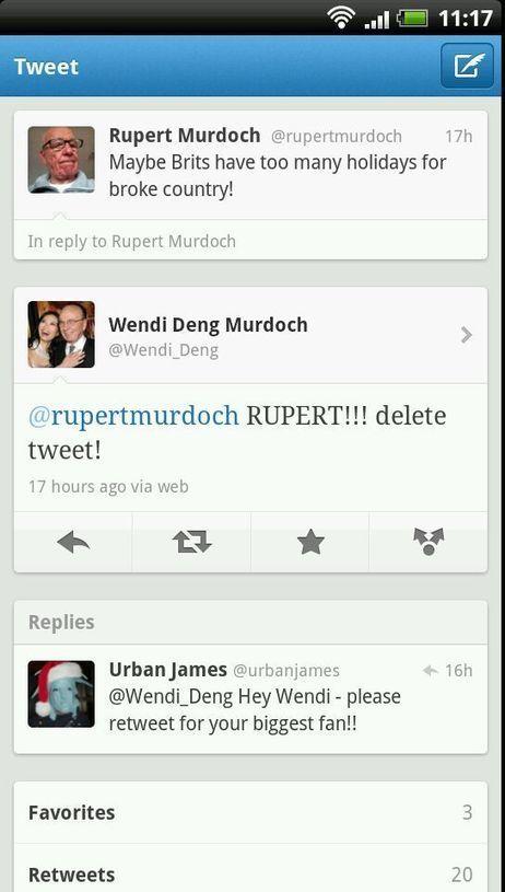 Rupert Murdoch rachètera t il Twitter ?   TwitteRadar   les tendances des médias sociaux   Scoop.it