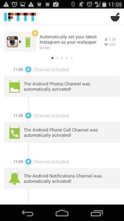 IFTTT débarque sur Android et ça va vous changer la vie - Korben | Web automation | Scoop.it