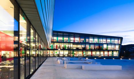 link arkitektur: nordahl grieg high school, norway | Structure and design | Scoop.it