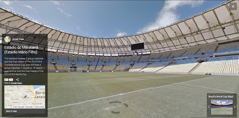All the Brazilian World Cup Stadiums on Google Street View | Brazilianisms | Scoop.it