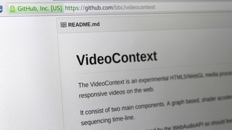 VideoContext - BBC R&D | Video Everywhere... with a headache | Scoop.it