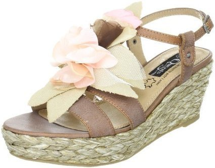 (1)   Queens FCL2607 2093010, Damen Sandalen/Fashion-Sandalen, Braun (antik bronze 10), EU 41 | sandale online shop | Scoop.it