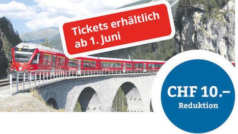 Welterbetage 11./12. Juni 2016 – die Rhätische Bahn entdecken | Südostschweiz | Rhätische Bahn Today | Scoop.it