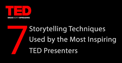 7 Storytelling Techniques Used by the Most Inspiring TED Presenters | Visme | How to find and tell your story | Scoop.it