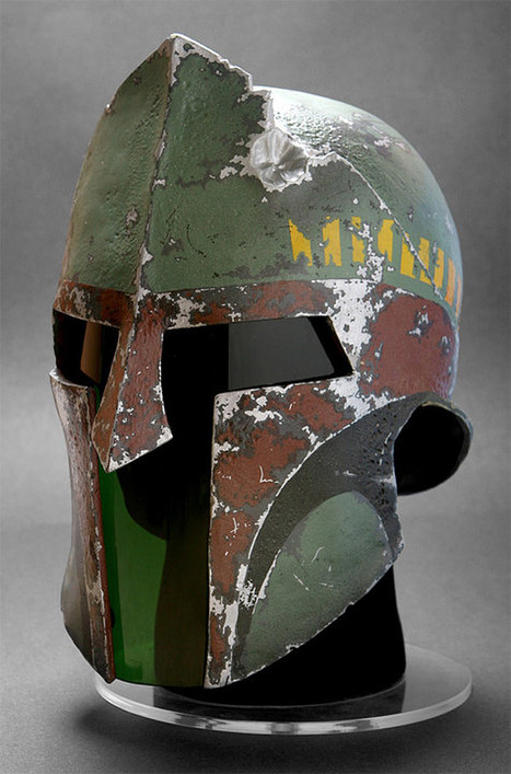 Boba Fett Spartan Helmet: This is BOBAAA!!! | All Geeks | Scoop.it