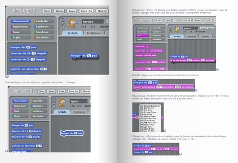 Tutoriel du logiciel de programmation SCRATCH à l'école | REL 2014 de CD | Scoop.it