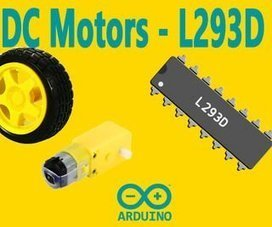 Arduino : How to Control DC Motors With L293D Motor Driver | Arduino Focus | Scoop.it