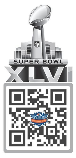 Super Bowl Sunday QR Code   QRdressCode   Scoop.it