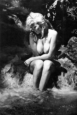 Bunny Yeager at Dunn's River Falls (1965) :: This photo screamed... | Busty Boobs Babes | Scoop.it
