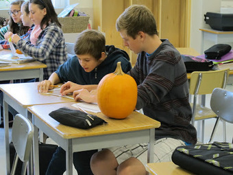 Through A Different Lens: Math-o-lantern and Learning (Math 8) | Transforming Learning in BC | Scoop.it
