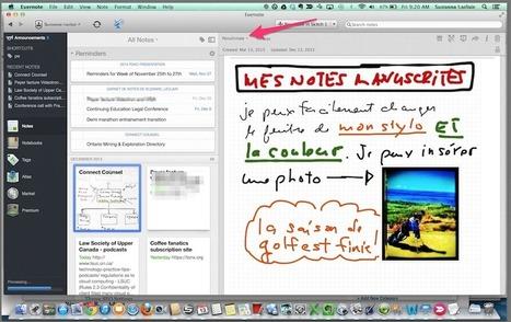 Retrouvez vos notes manuscrites rédigées sur Ipad classées avec Evernote | Evernote, gestion de l'information numérique | Scoop.it