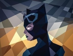 Comic Book Characters Plus Geometry Equals Pretty Awesome Fanart | Geek On | Scoop.it