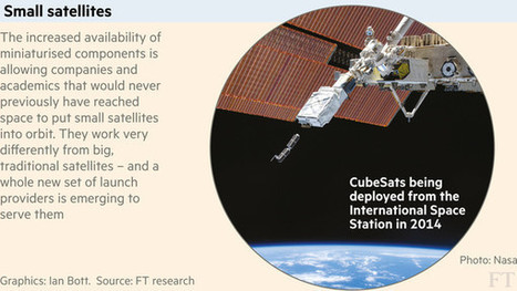 Satellite industry aims smaller and lower   FT.com   The NewSpace Daily   Scoop.it