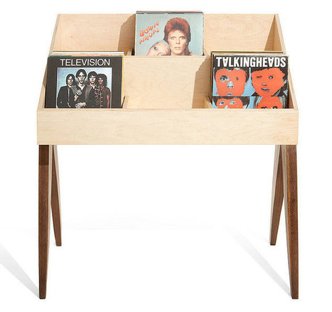A new record stand that ups your home's cool factor | D_sign | Scoop.it