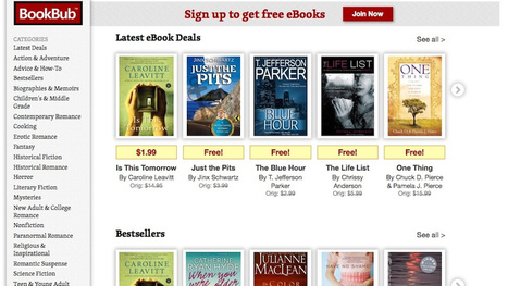 BookBub Offers Daily Deals on Free or Discounted Ebooks | Educational Technology - Yeshiva Edition | Scoop.it
