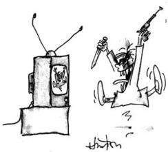 Televisión y escuela: La televisión, en la génesis de la violencia   VIOLENCIA EN LAS ESCUELAS - PREVENCION   Scoop.it