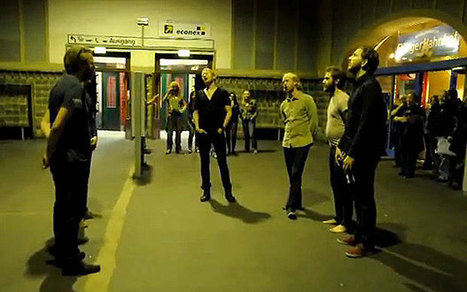 Group perfoms Icelandic hymn in German train station | Strange days indeed... | Scoop.it