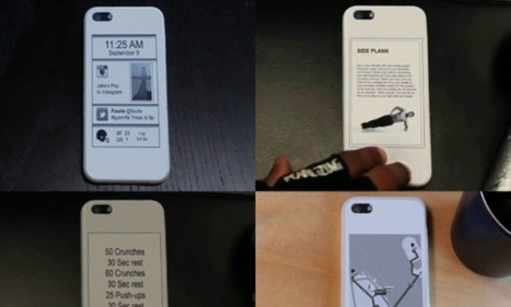 The phone case that adds a SECOND screen to the back of a handset | The daily digest | Scoop.it