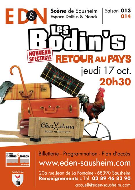 Les BODIN'S : Retour au pays | Humour & Théâtre à l'ED&N | Scoop.it