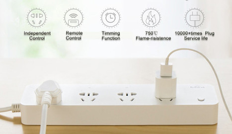 Broadlink MP1 is a $20 WiFi Power Strip with 4 Independent Sockets | Embedded Systems News | Scoop.it