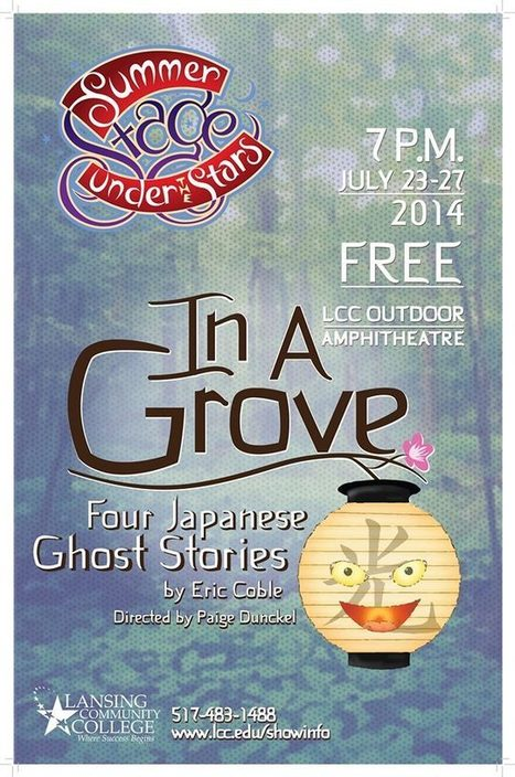 In A Grove: Four Japanese Ghost Stories | LCC #STARPOWER in the News | Scoop.it