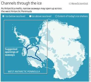 Seaways across Antarctica could open in 1000 years | Amazing Science | Scoop.it