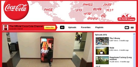 Q: What Can Coca Cola Can Teach Us About Content Marketing? A: LOTS | Thank You Economy Revolution | Scoop.it