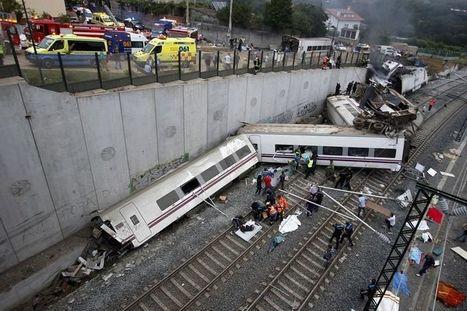 Accident mortel de train à Saint-Jacques de Compostelle - Libération   J'écris mon premier roman   Scoop.it