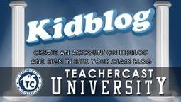 Creating a Kidblog Account | Edtech PK-12 | Scoop.it
