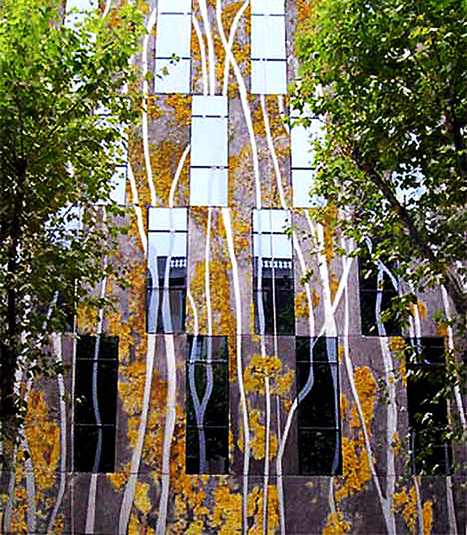 Organic Concrete For Living Green Facades   Urban Gardens   Unlimited Thinking For Limited Spaces   Urban Gardens   Annie Haven   Haven Brand   Scoop.it
